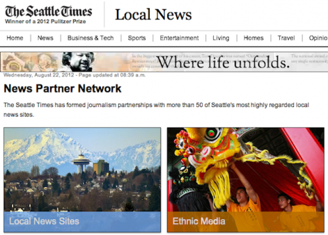 Networked Journalism - Seattle News Partner Network