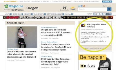 Networked Journalism - The Oregonian News Network | OregonLive