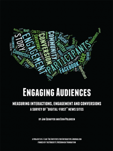 Engaging Audiences Cover - J-Lab