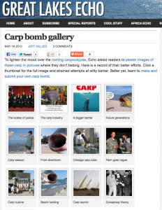 Great Lakes Echo - Carp Bomb Gallery