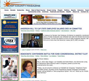 East County Magazine