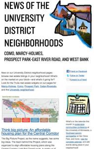 TCDP - University District Neighborhoods