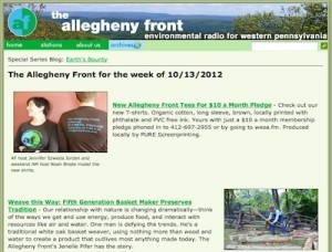 Pipeline News Partners |  Allegheny Front