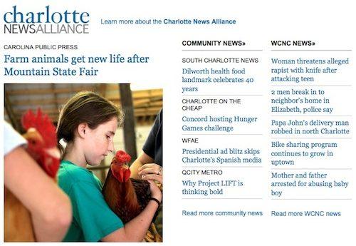 Charlotte News Alliance - Carolina Public Press