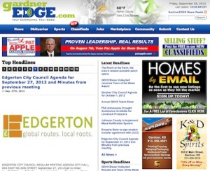 Northeast Kansas News Network - GardnerEdge.com, covering Gardner, Kansas