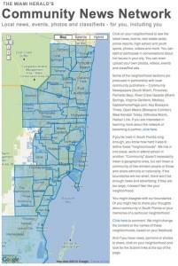 Miami Herald | Miami Community News Network - Map