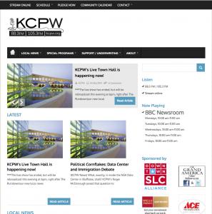 KCPW Utah - News Chops repport