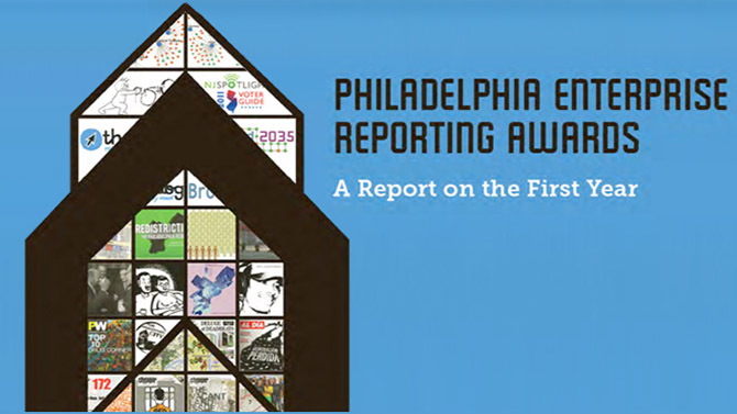 Philadelphia Enterprise Reporting Awards report