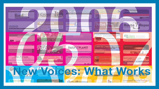 New Voices: What Works report