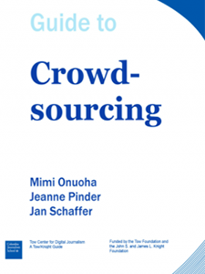 Cover - Guide to Crowdsourcing (Tow Center)
